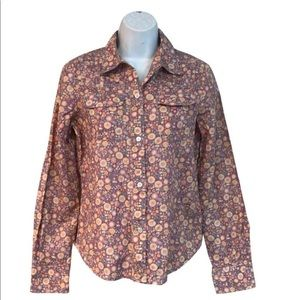 Marc Jacobs Floral Printed Button Down Blouse 2